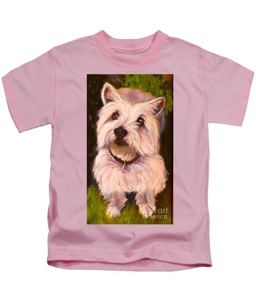 West Highland Terrier Reporting For Duty Kids T-Shirt