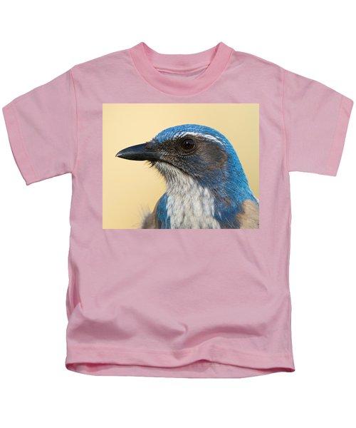 California Scrub-jay Kids T-Shirt