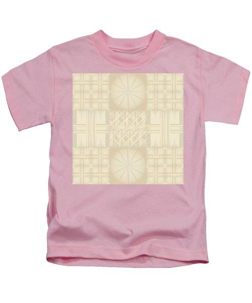 Wicker Quilt Kids T-Shirt