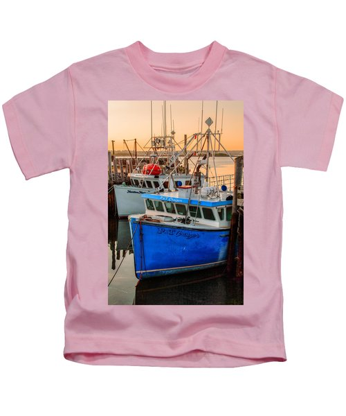 Yarmouth Harbour Kids T-Shirt