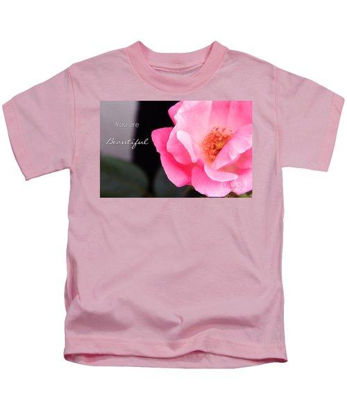 You Are Beautiful Kids T-Shirt