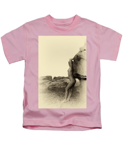 Past Time Nude Photography Kids T-Shirt