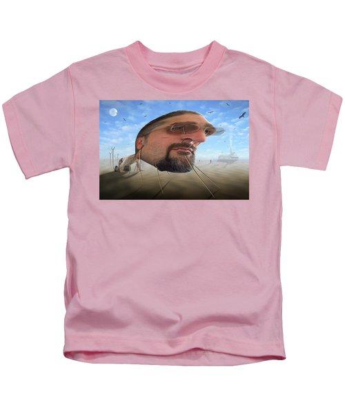 Awake . . A Sad Existence 2 Kids T-Shirt