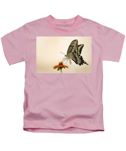 Butterfly And Flower Kids T-Shirt