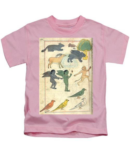Creatures From The Island Of Zanj, 17th Kids T-Shirt