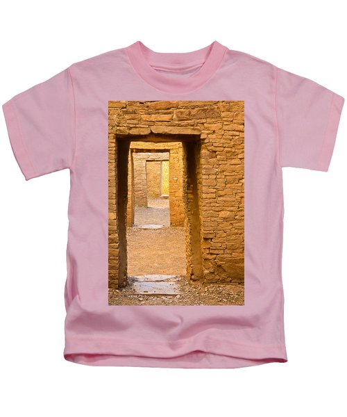 Doorway Chaco Canyon Kids T-Shirt