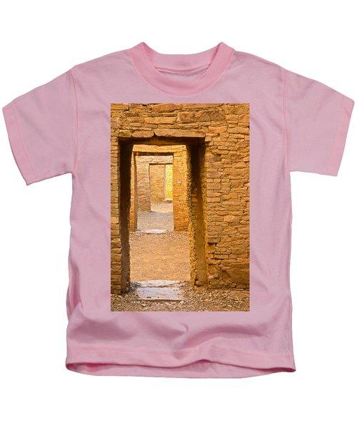 Doorway Chaco Canyon Kids T-Shirt