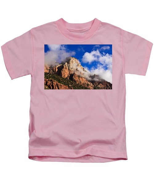 Early Morning Zion National Park Kids T-Shirt