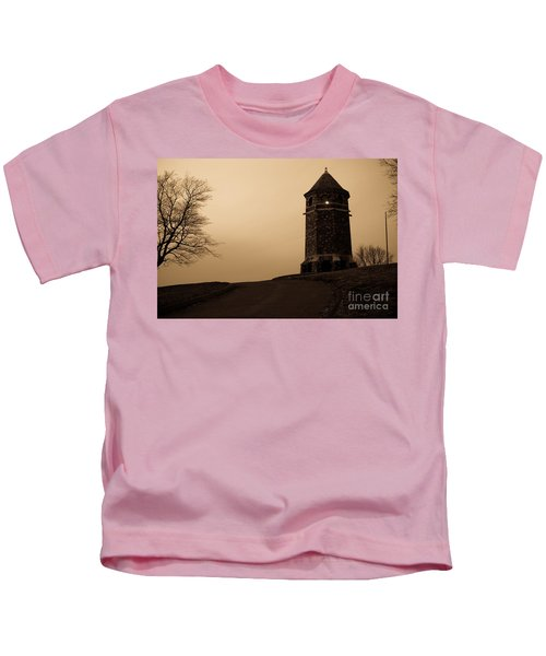 Fox Hill Tower Kids T-Shirt