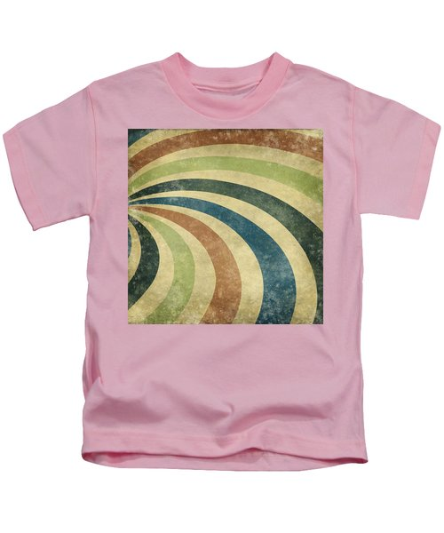 grunge Rays background Kids T-Shirt