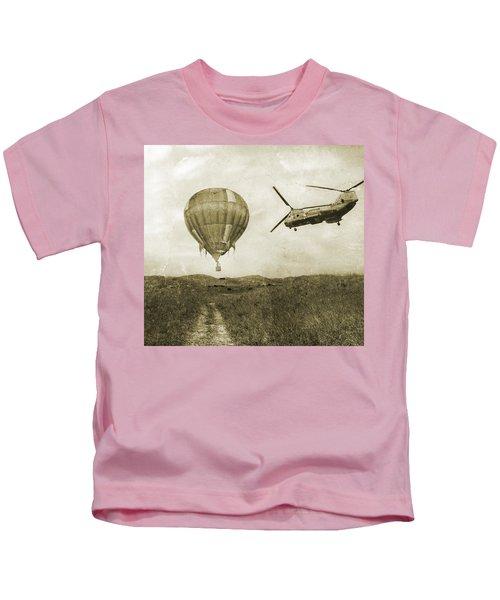 Hot Air Cool Air Kids T-Shirt
