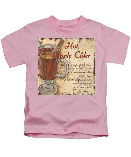 Hot Apple Cider Kids T-Shirt