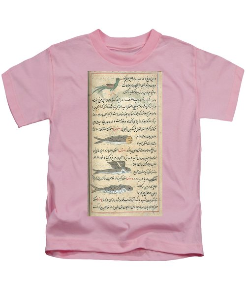 Islamic Mythical Creatures, 17th Century Kids T-Shirt