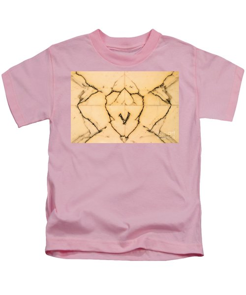 Marble Face Kids T-Shirt
