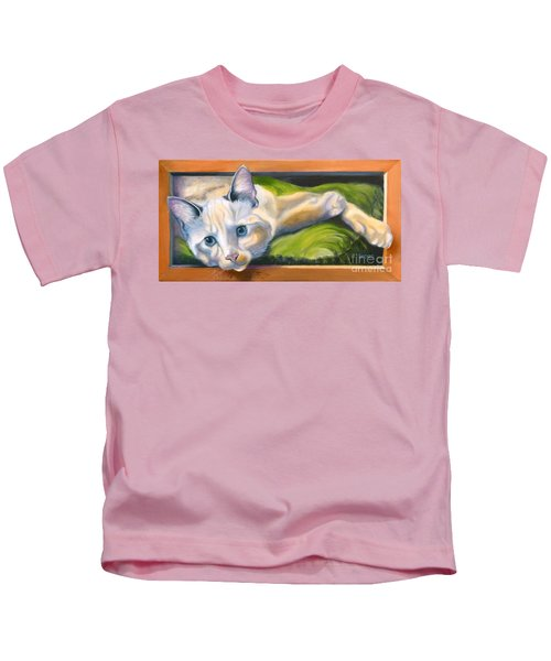 Picture Purrfect Kids T-Shirt