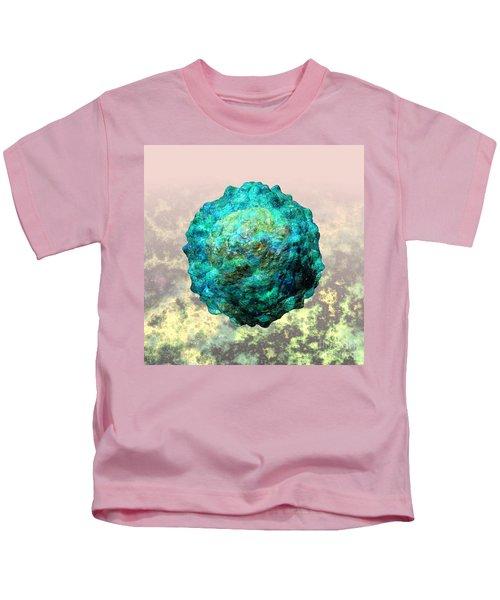 Polio Virus Particle Or Virion Poliovirus 1 Kids T-Shirt