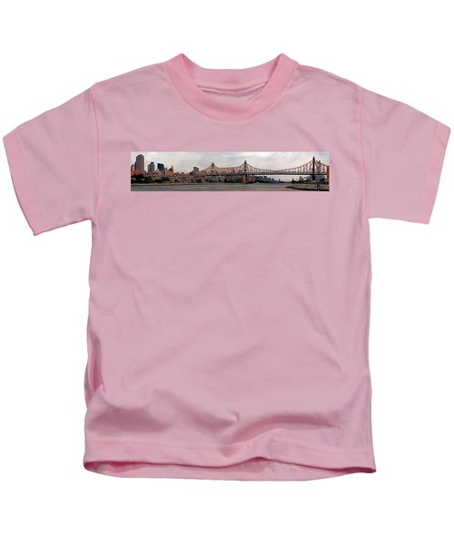 Queensboro Bridge Kids T-Shirt