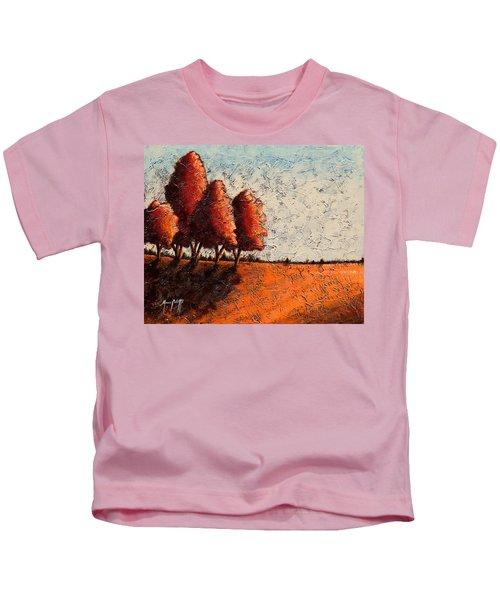 Red Quartet  Kids T-Shirt