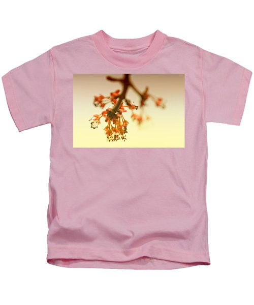 Shades Of Spring Kids T-Shirt