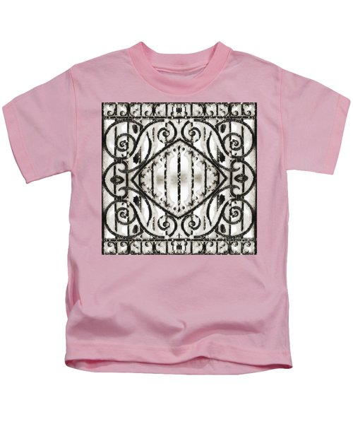 Snowy Forms Kids T-Shirt