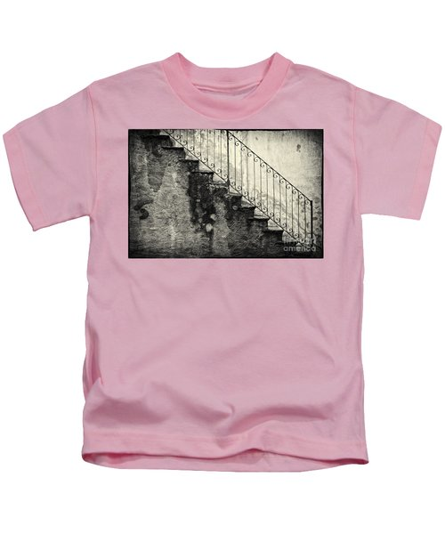 Stairs On A Rainy Day Kids T-Shirt