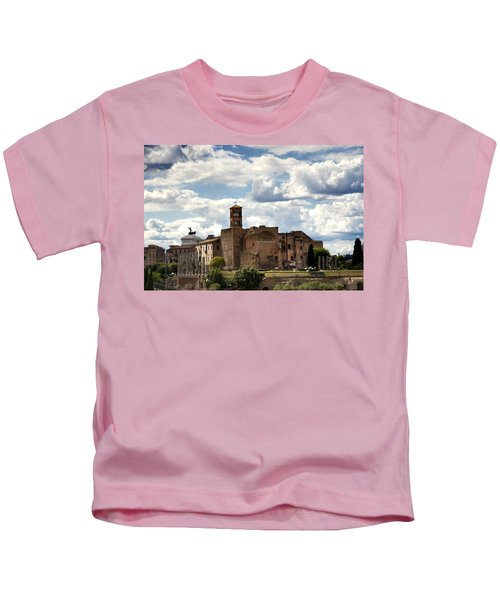 Temple Of Venus And Roma Kids T-Shirt