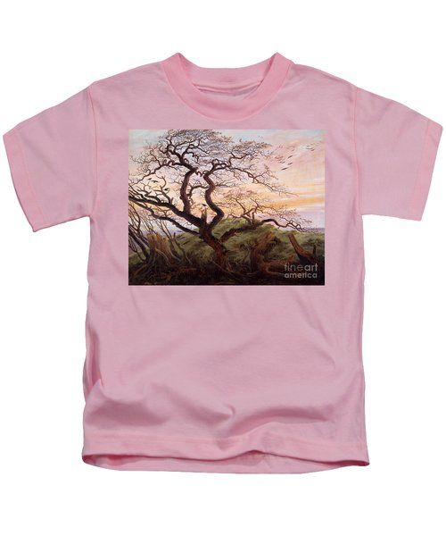 The Tree Of Crows Kids T-Shirt