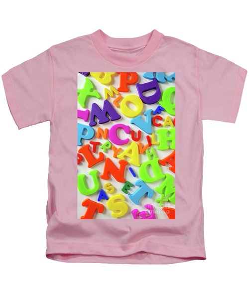 Toy Letters Kids T-Shirt