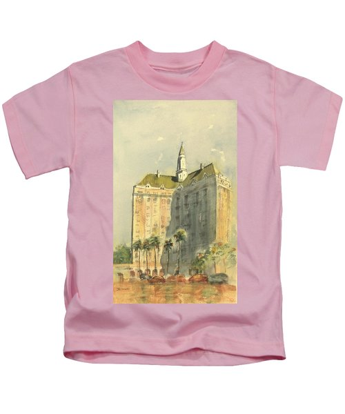 Villa Riviera Another View Kids T-Shirt
