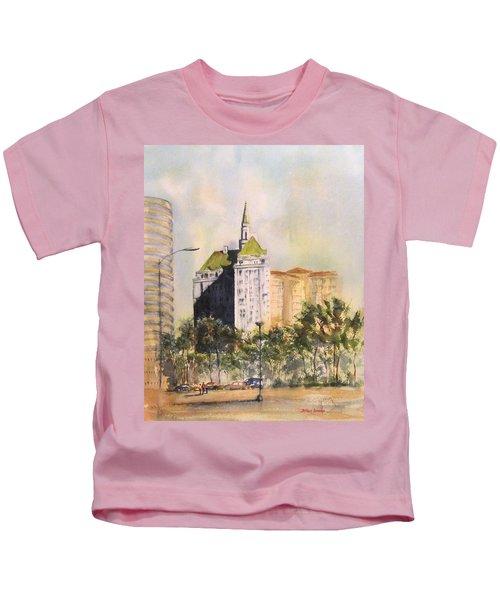 Villa Riviera  Kids T-Shirt