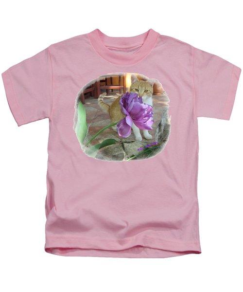 You See Me Kids T-Shirt by Vesna Martinjak