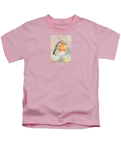 British Robin Kids T-Shirt