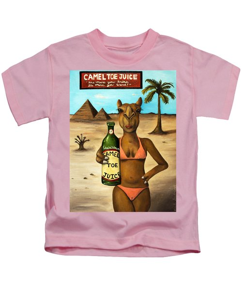 Camel Toe Juice Kids T-Shirt