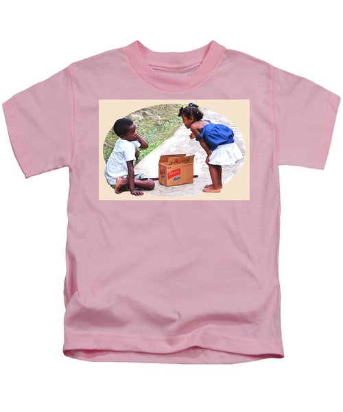 Caribbean Kids Illustration Kids T-Shirt