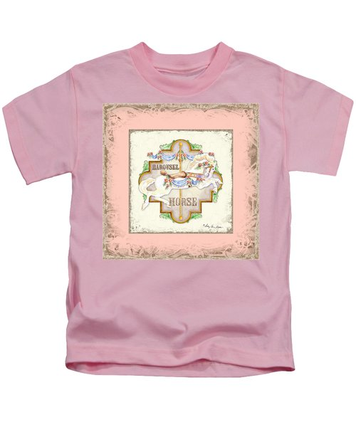 Carousel Dreams - Horse Kids T-Shirt