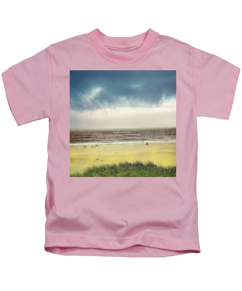Clearing Storm Montauk Kids T-Shirt