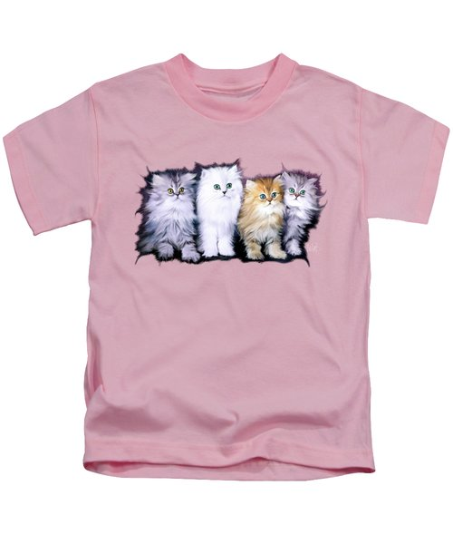 Kitten Family Kids T-Shirt