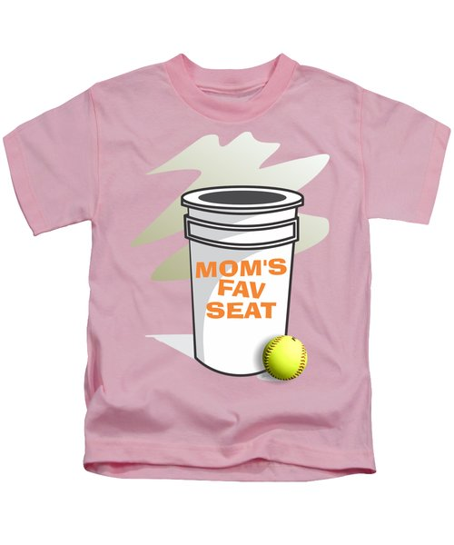 Mom's Favorite Seat Kids T-Shirt