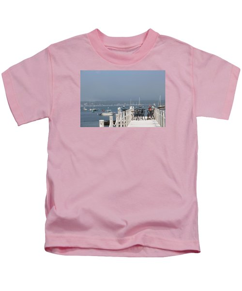 New Castle Harbor Nh Kids T-Shirt