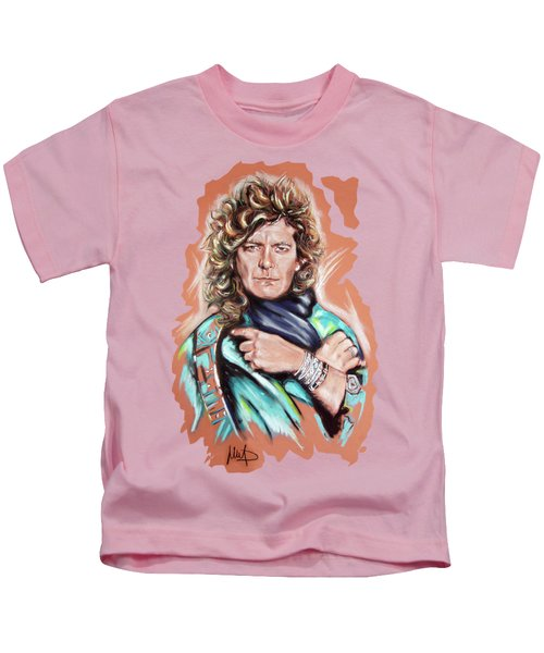 Robert Plant Kids T-Shirt