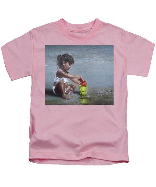 Sand Castles II Kids T-Shirt