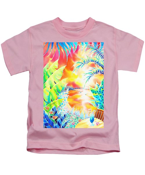 Sunset Cocktail Kids T-Shirt