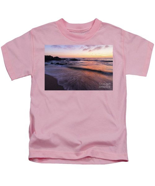 Sunset Over Laguna Beach   Kids T-Shirt
