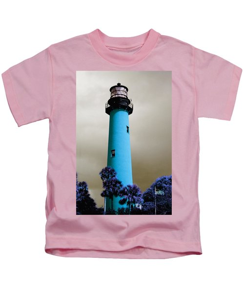 The Blue Lighthouse Kids T-Shirt