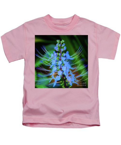 Tropical Plants And Flowers In Hawaii Kids T-Shirt