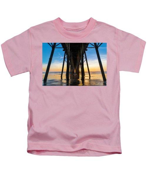 Under The Oceanside Pier Kids T-Shirt