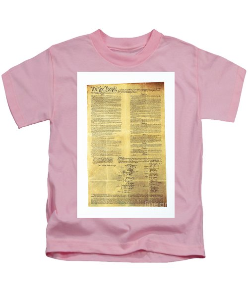 U.s Constitution Kids T-Shirt
