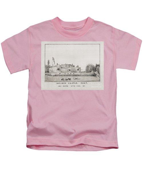 Walmer Castle Kent Kids T-Shirt
