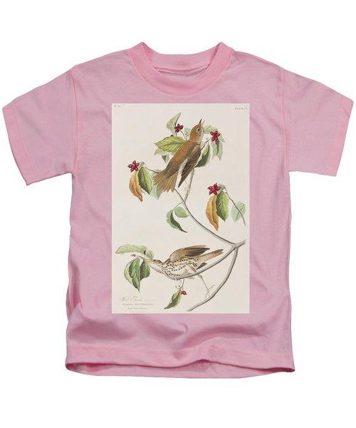 Wood Thrush Kids T-Shirt