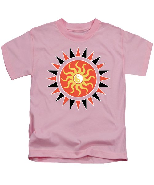Yin Yang Sunshine Kids T-Shirt